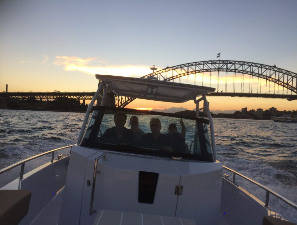 Axopar Ttop review Sydney
