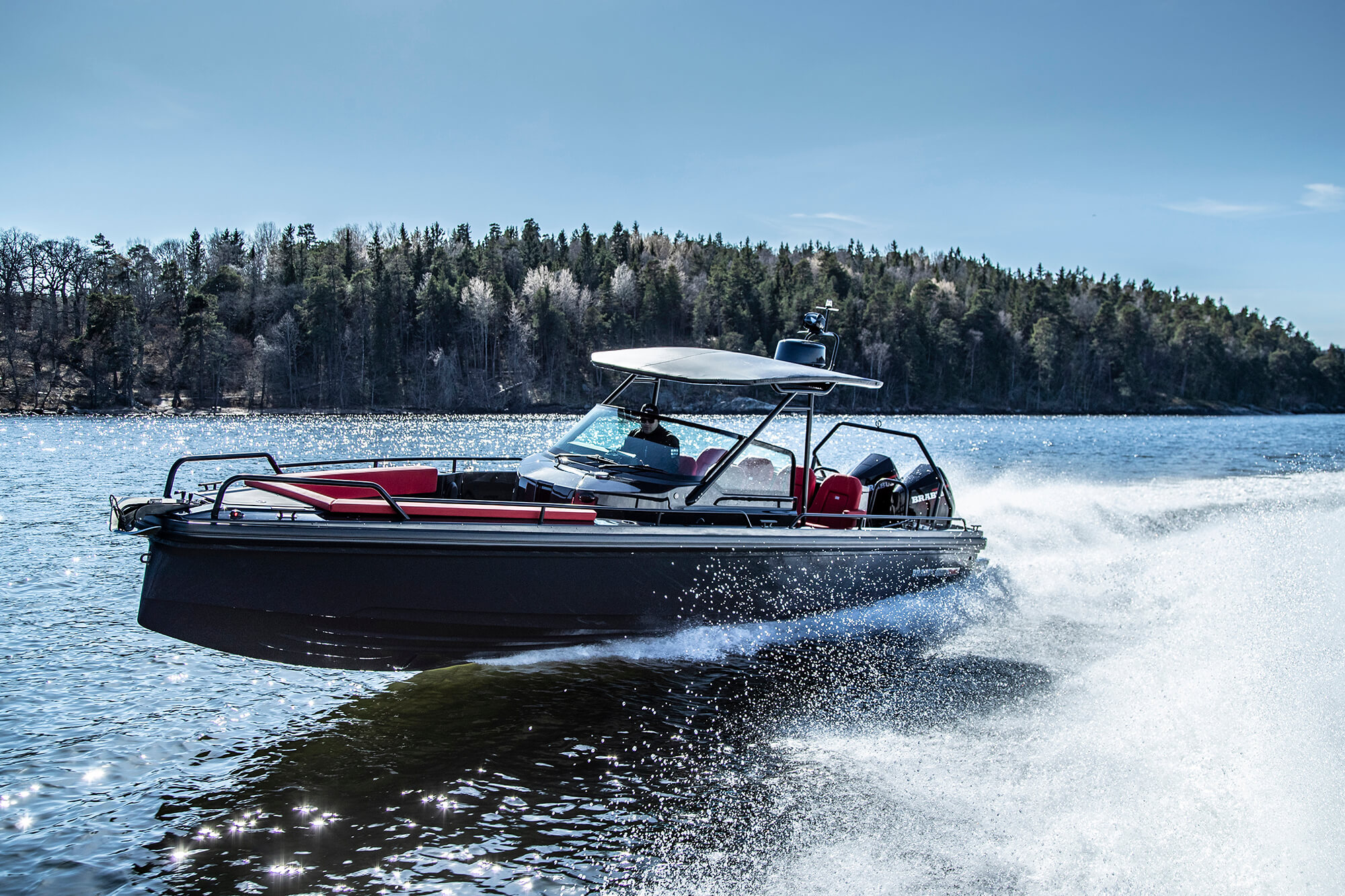 Brabus Shadow 500 Australia 30ft speed boat