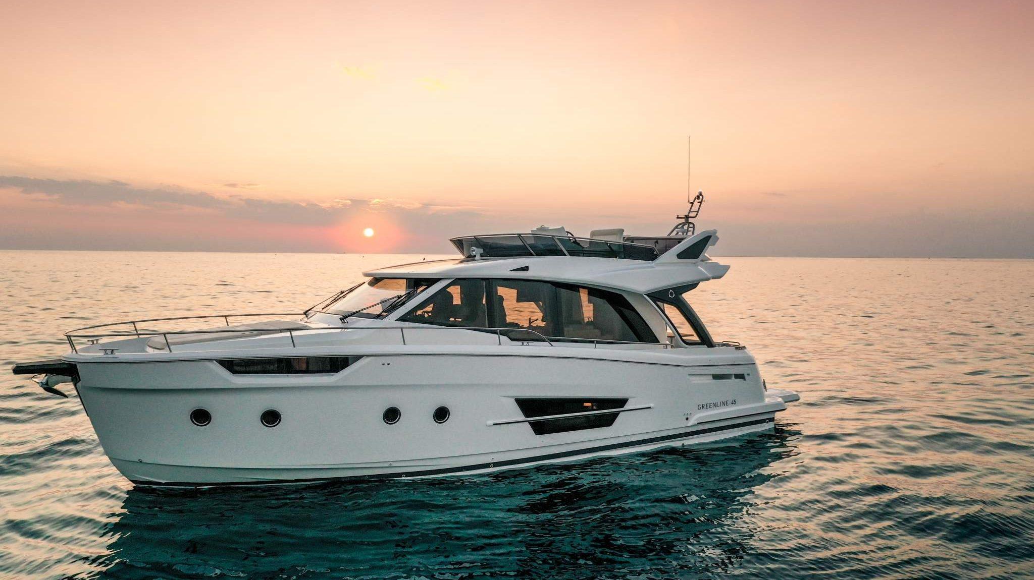 Greenline Hybrid 45 Yacht, Eyachts Australia and New Zealand