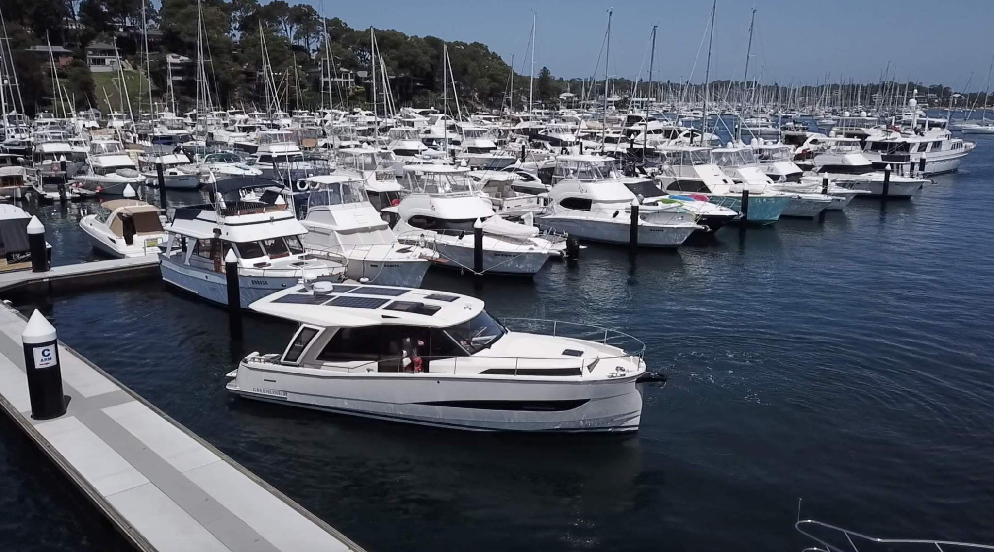 How to berth a Greenline 39