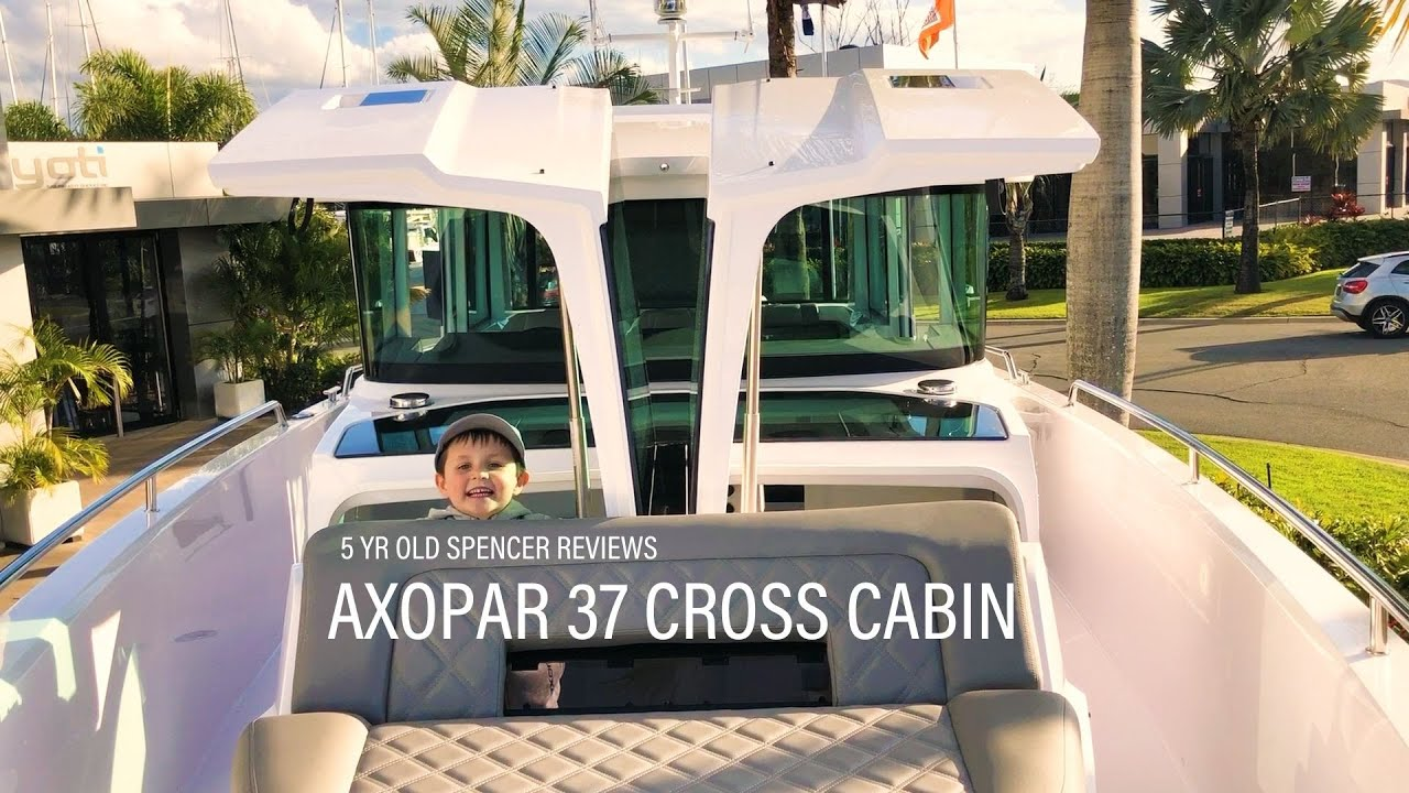 Axopar 37 Cross Cabin Review