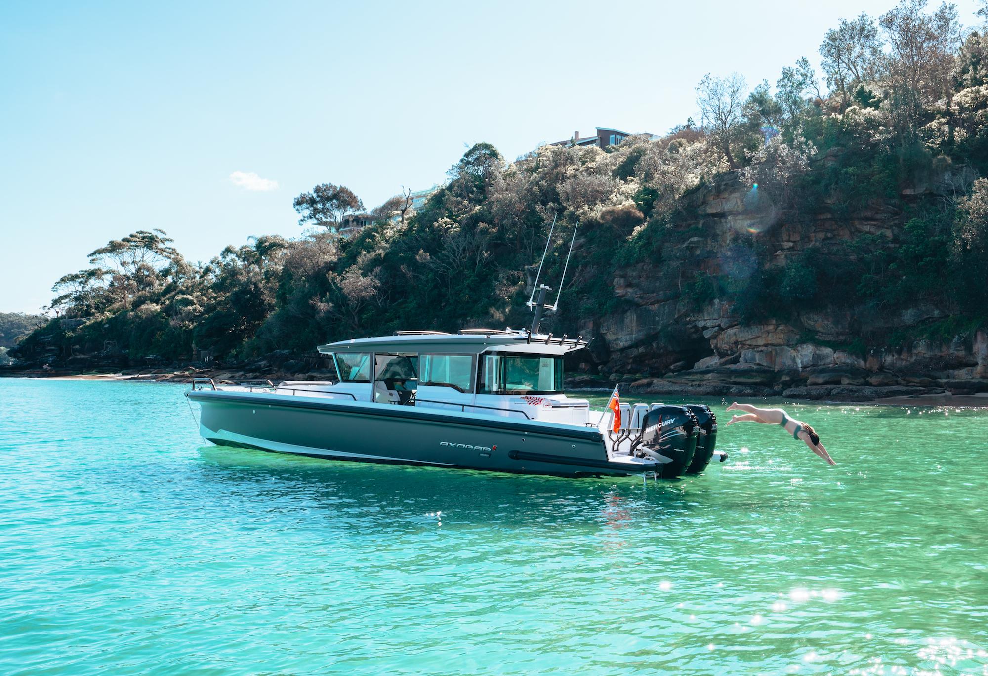 Axopar 37 Cross Cabin Adventure Sydney