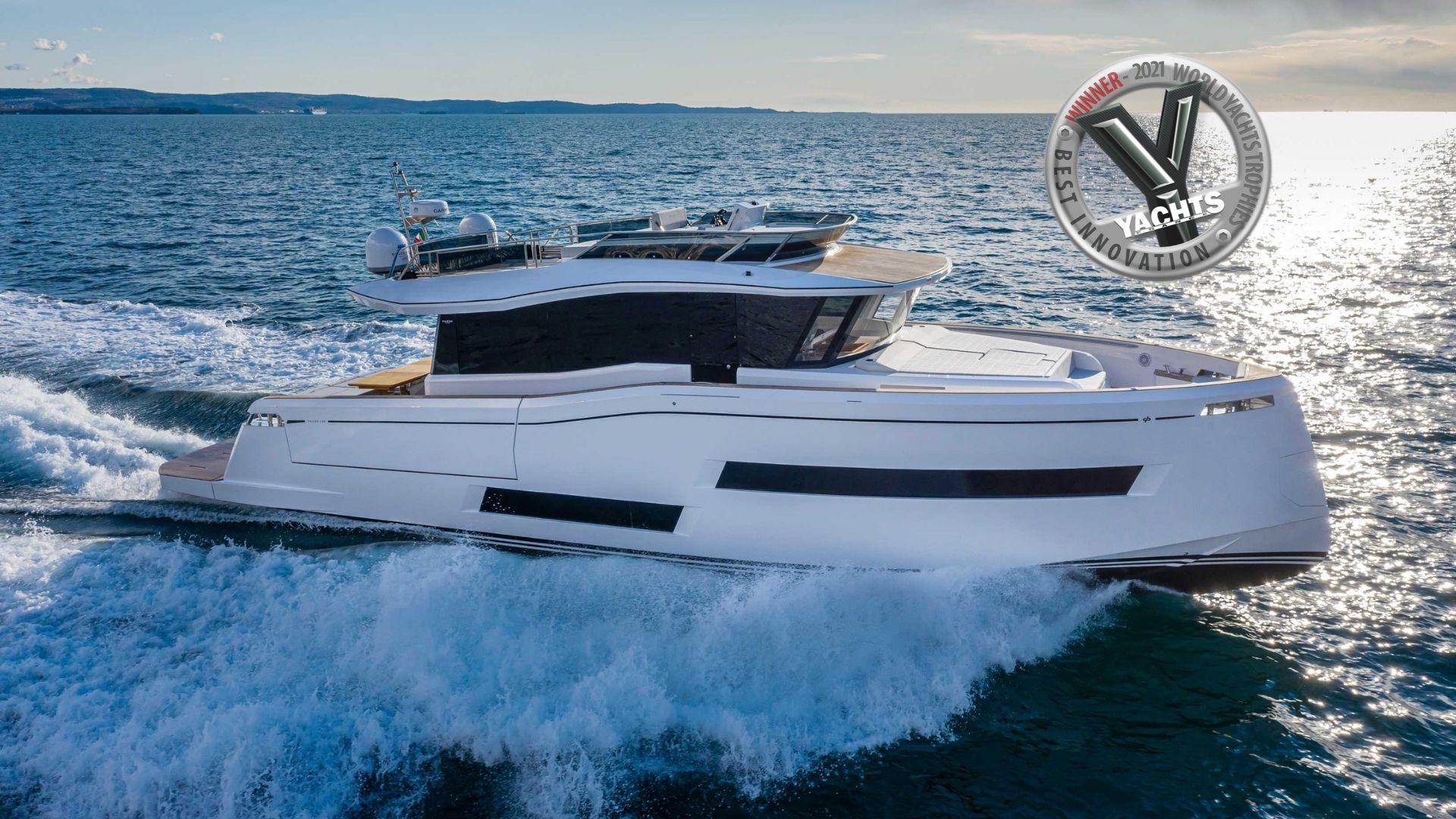 Pardo E60 Wins World Yacht Trophies Best Innovation 2021